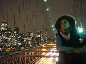 aniinthesky puente de brooklyn ny