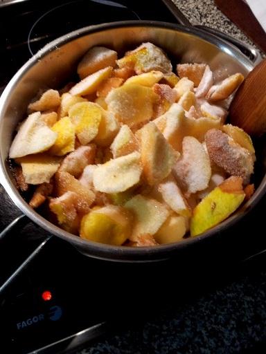 cocinar membrillo casero
